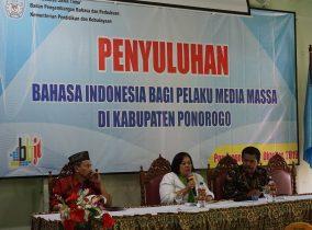 Media Massa, Mitra Strategis Perbaiki Penggunaan Bahasa di Masyarakat