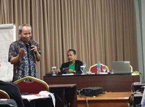Sutejo Menginspirasi Wartawan di Swiss-Bell Hotel Pangkal Pinang
