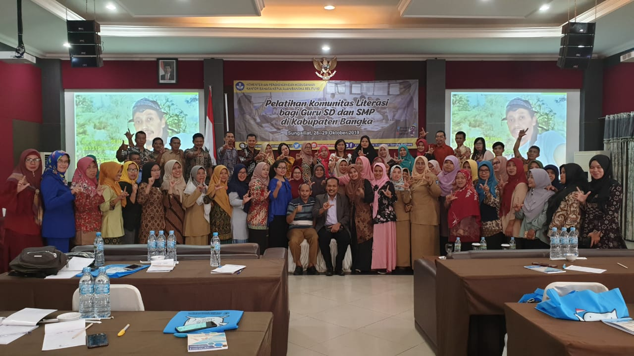 Dosen STKIP PGRI Ponorogo Menginspirasi Pelatihan Komunitas di Sungailiat