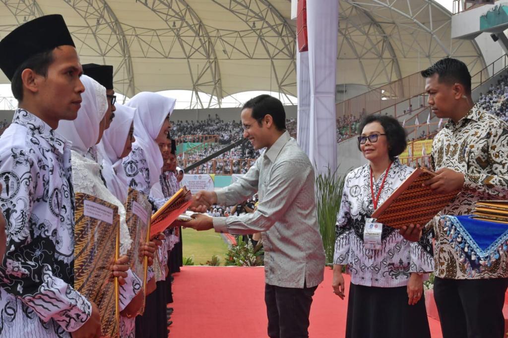 Alumni STKIP PGRI Ponorogo Sabet Penghargaan Guru Inspiratif Nasional
