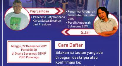 Sekolah Literasi Gratis Edisi Desember 2019