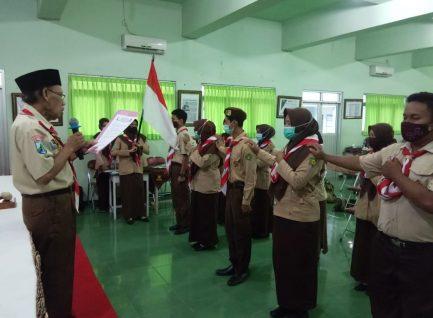 Racana Suro Menggolo-Dewi Songgolangit Lantik 18 Pengurus Baru