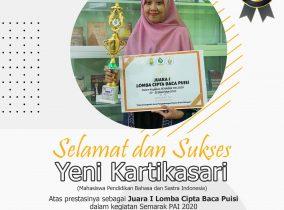 Dosen dan Mahasiswa Bergantian Juara, Memperteguh STKIP PGRI Ponorogo sebagai Kampus Literasi