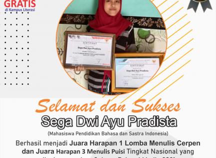 Mahasiswa Kampus Literasi Raih 2 Juara di Bidang Literasi