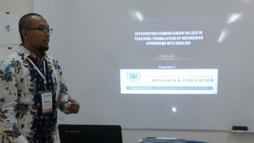 Adip Arifin: Terpanggil untuk Mengabdi di Almamater