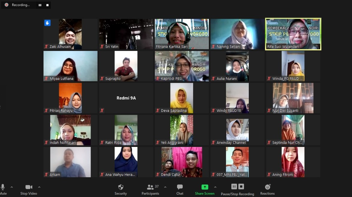 Optimalisasi Media Sosial sebagai Alternatif Pembelajaran Daring